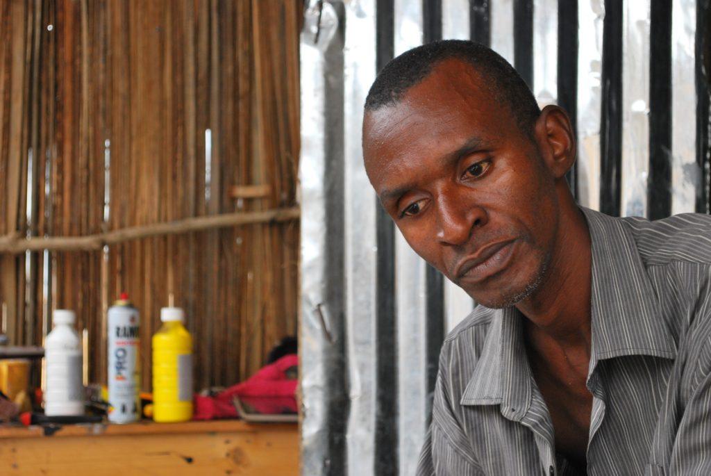 SANDA, Artiste peintre, Bénin