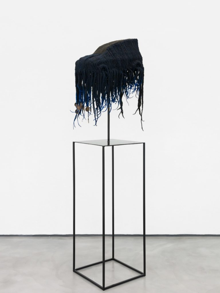 more-white-tresse-768x1024 Retrospective on « Money, Money, Money », an exhibition by African contemporary artist Meschac Gaba