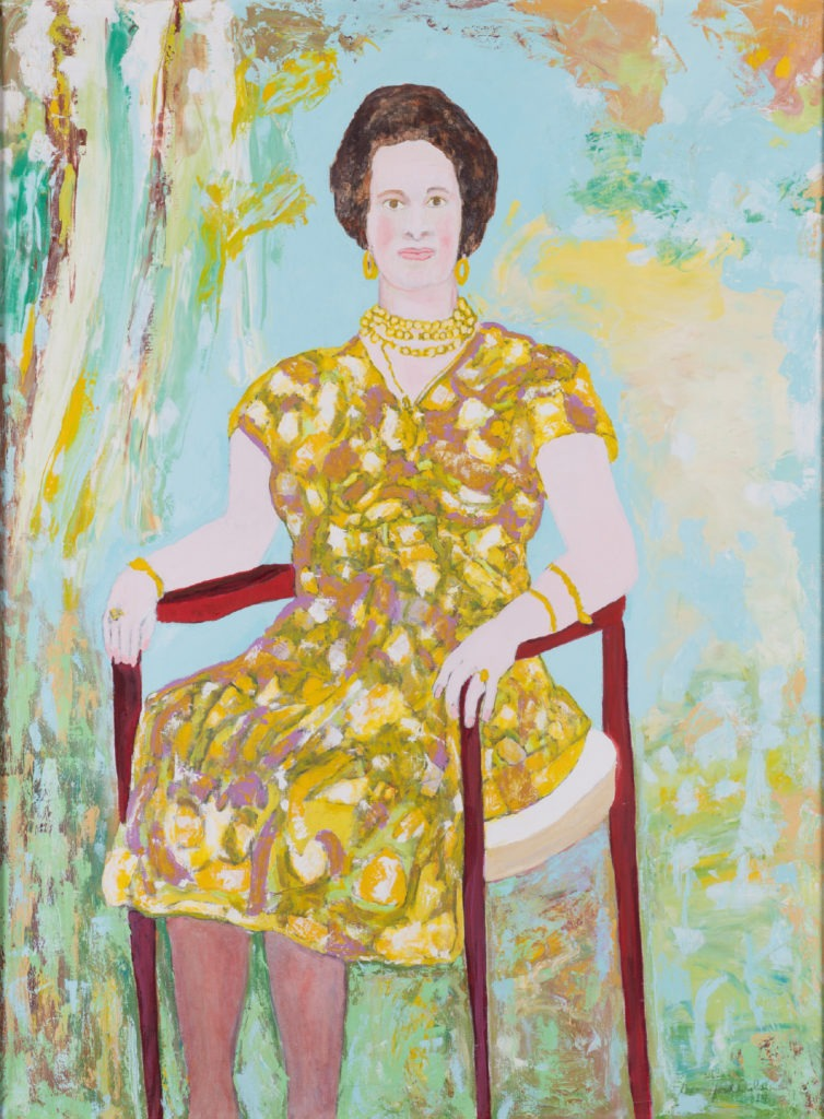 """Beauford Delaney Pikoula Vassiliki, 1970 Oil on canvas 130 x 97 cm Signed and dated """"Beauford Delaney 1970"""