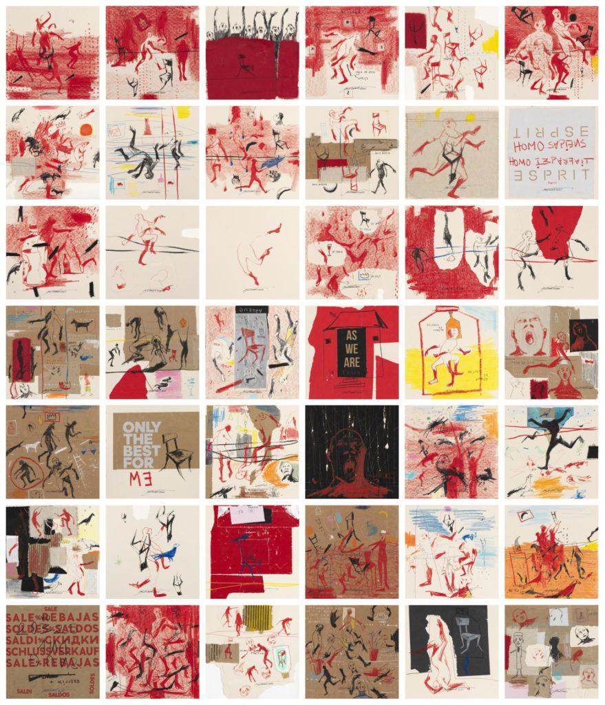 « L'IMPARFAIT ET L'IMPÉRATIF », an exhibition by Nú Barreto at the Galerie Nathalie Obadia in Paris