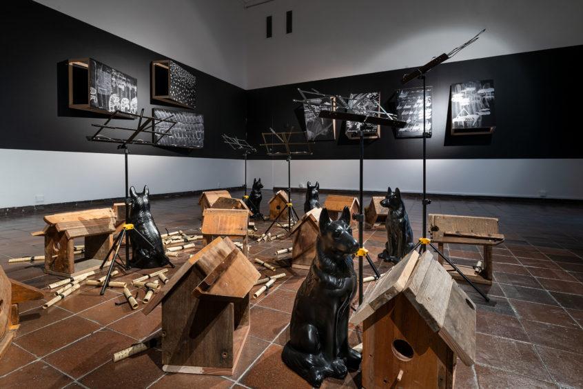 Kemang_Wa_Lehulere_bring_back_lost_love_photo_hendrik_zeitler_web_02-1-846x564-1 South African artist Kemang Wa Lehulere presents « Bring Back Lost Love » at Göteborgs Konsthall in Sweden