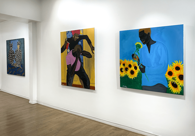 John Madu and Ousmane Niang reshuffle the cards of power with the exhibition « Figures of power » at the Afikaris Gallery in Paris