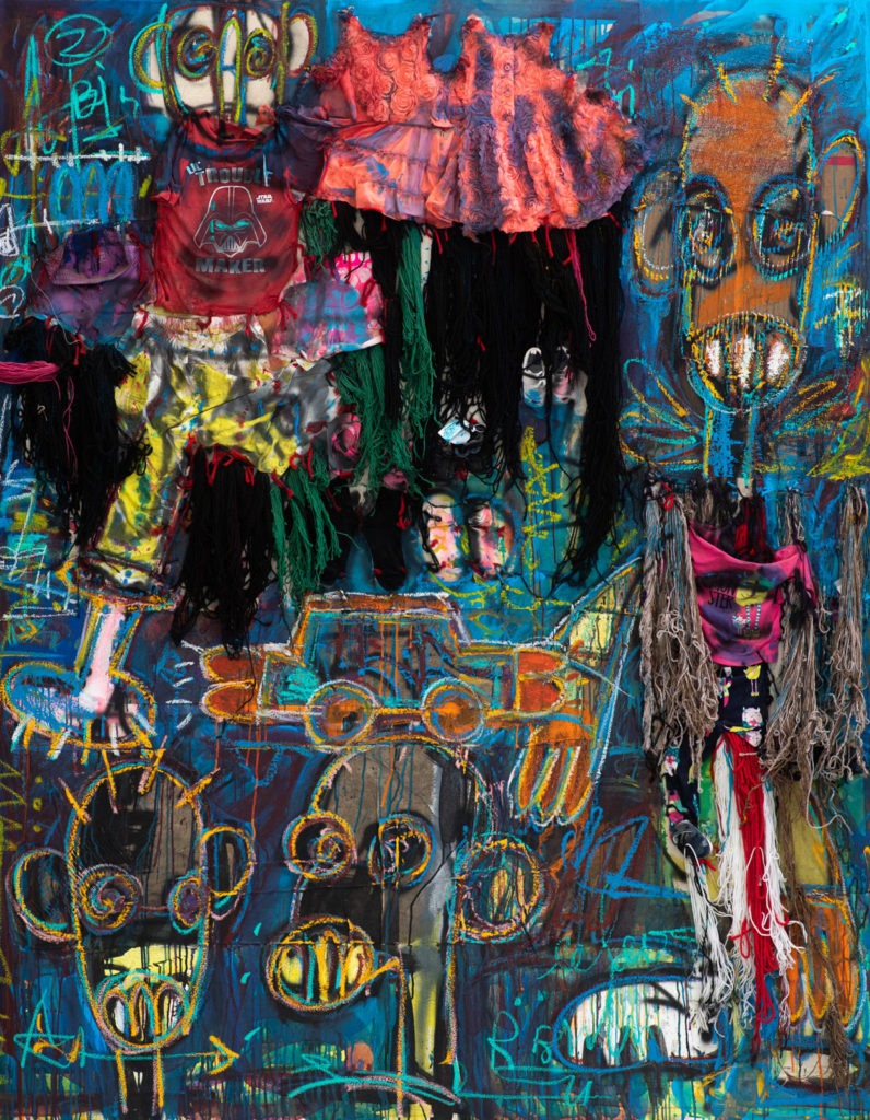 « TOKYO », the new exhibition of the contemporary artist ABOUDIA at the Cécile Fakhoury Gallery