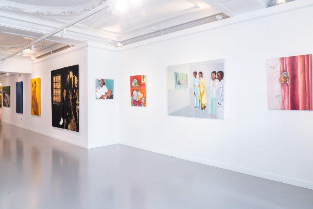 dsc03646-1024x683 La Galerie londonienne HOFA présente «Mother of Mankind», une exposition afro-féminine qui donnent à voir les talents provenant des quatre coins du globe