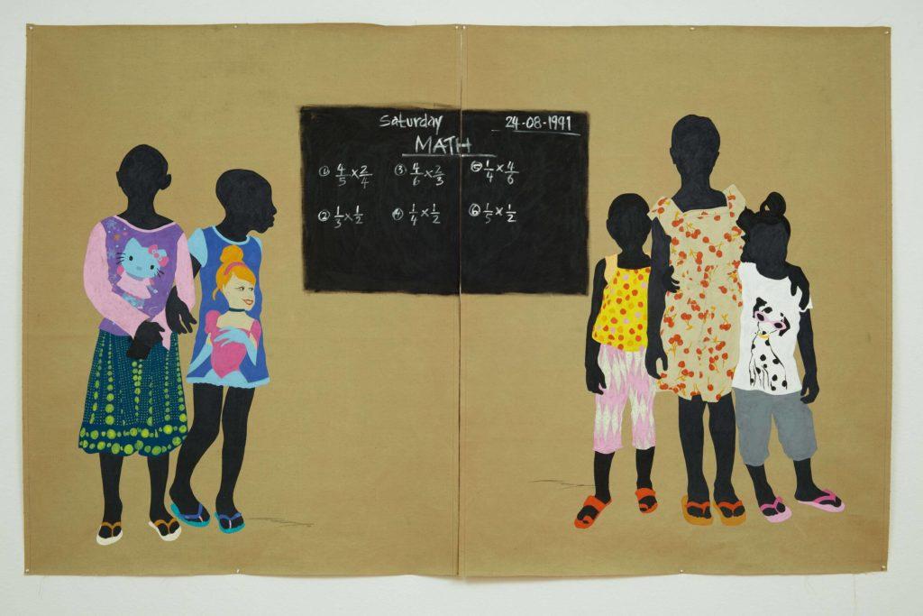 Raphael Adjetey Adjei Mayne presents « Assuming you look like me » at GNYP Gallery in Berlin