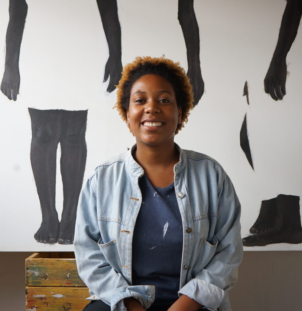sungi-mlengeya-painting-artist-portrait-afriart-gallery-994x1024 Sungi Mlengeya presents « Just Disruptions » at Afriart Gallery in Kampala